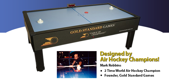 Gold Standard Air Hockey Tables